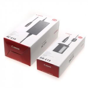 Canon DR-E19 DC Coupler + AC-E19 Adapter