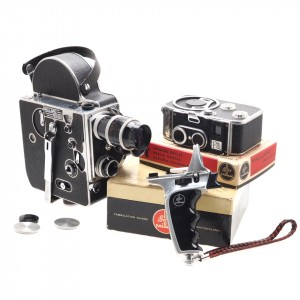 Bolex Paillard Cinepresa 16mm e 8mm (Swiss Made)