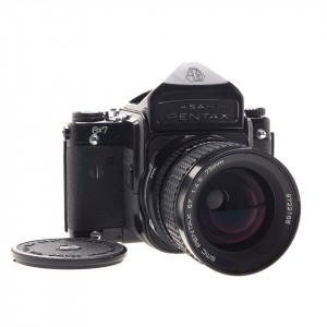 Pentax 6x7 + 75mm f/4.5