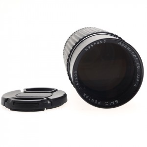 200mm F/4 Pentax SMC (K-mount)