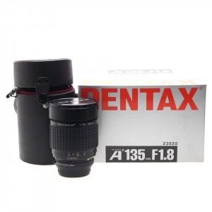 135mm F/1.8 ED Pentax A SMC (23530) (attacco K)