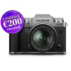 Fujifilm X-T4 Kit 18-55mm f/2.8-4 Silver