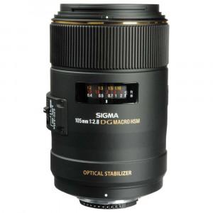 Sigma 105mm f/2.8 EX DG OS HSM Macro per Canon EF