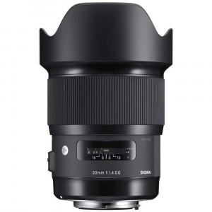 Sigma 20mm f/1.4 DG HSM Art per Canon EF