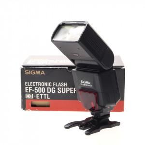 Sigma Speedlight EF-500 DG Super (Canon)