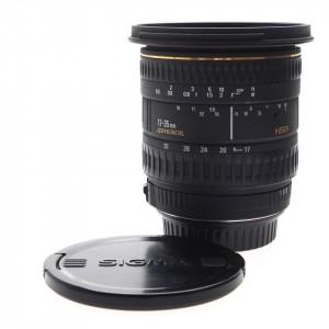17-35mm F/2.8-4 HSM Sigma per Canon EF (versione attacco filtri da 82mm)