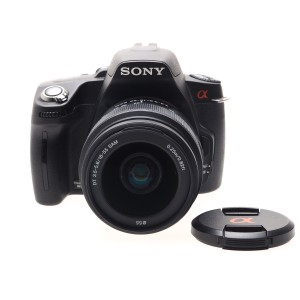 Sony A390 kit 18-55mm SAM