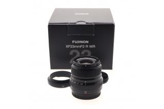 23mm f/2 R WR Fujinon, Nero