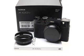 Fujifilm X100V black (100 scatti !!!)