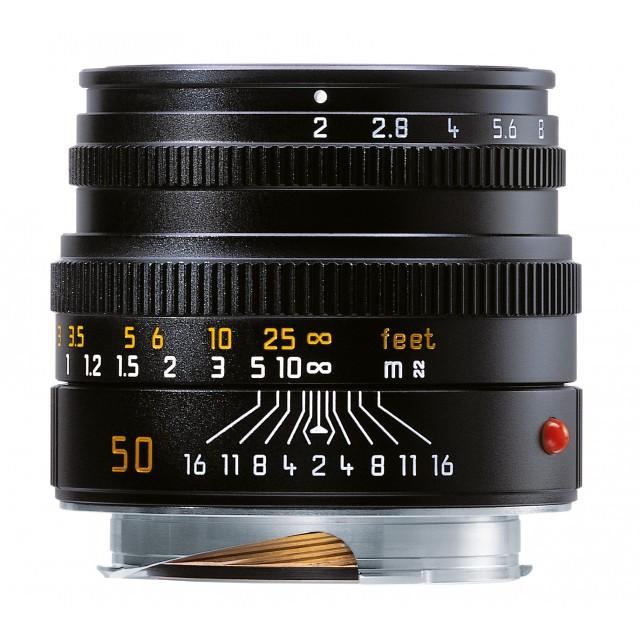 50mm f/2 Leica Summicron-M