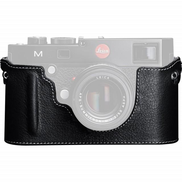 Fondina per nuova Leica M (type 240) in pelle color nero