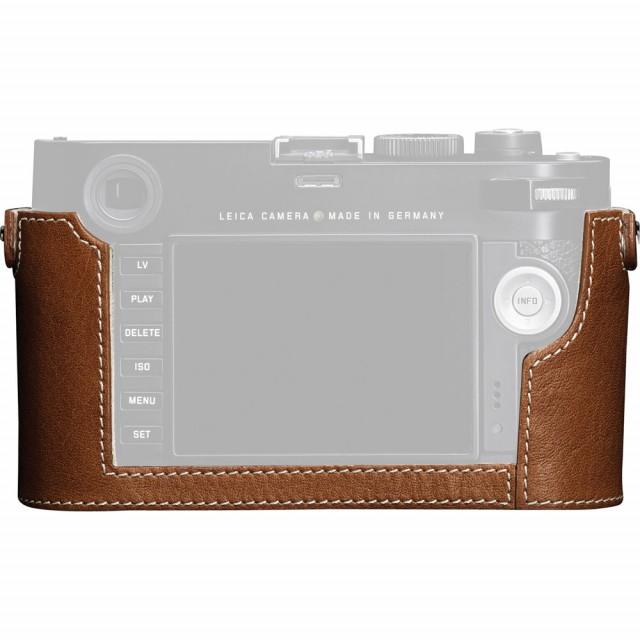 Fondina protettiva per nuova Leica M (type 240) in pelle color cognac