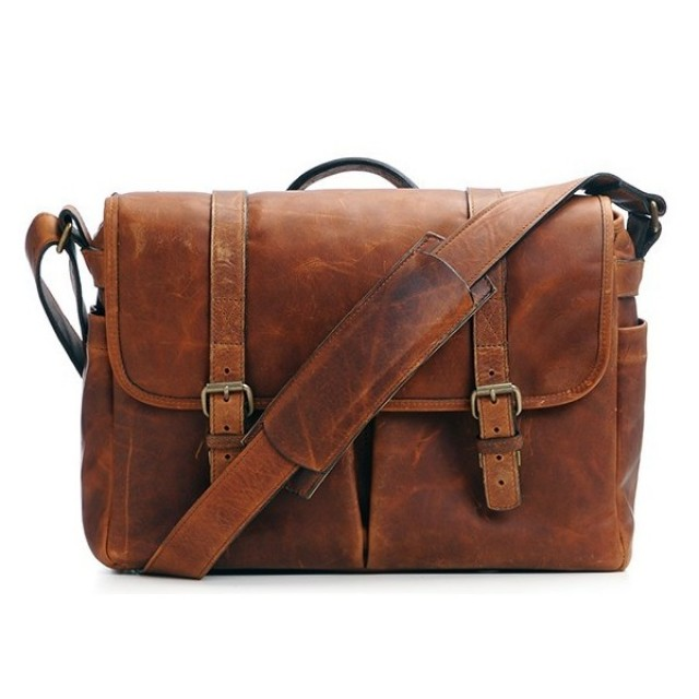 Ona Brixton Leather cognac