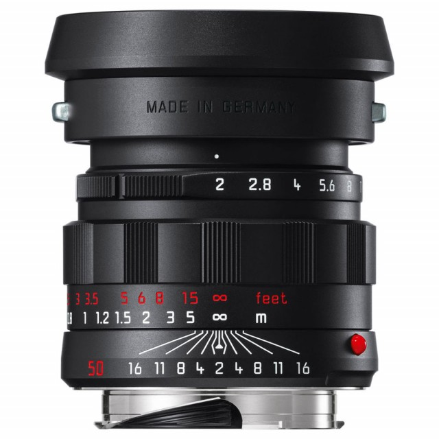 Leica APO-Summicron-M 50mm f/2 ASPH. Black-Chrome Editio