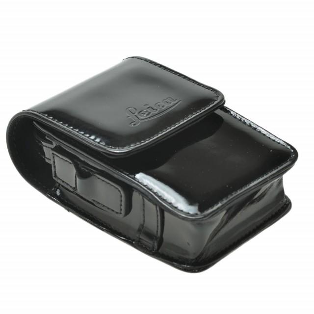 Leica borsa pelle lucida nera per C-Lux3
