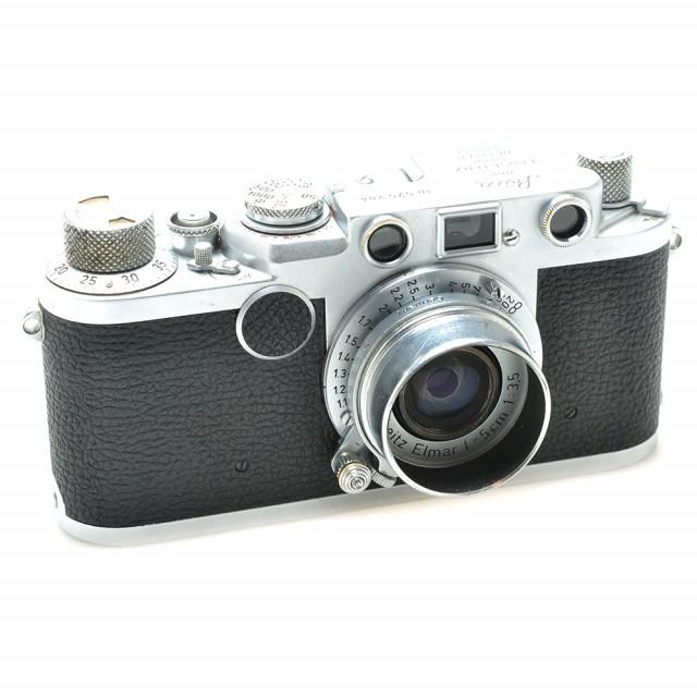 Leica vite III f con Elmar 50/3.5 e paraluce FISON