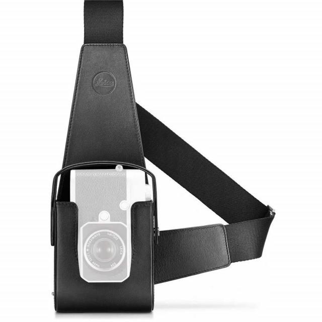 Leica M10 Holster fondina in pelle nera