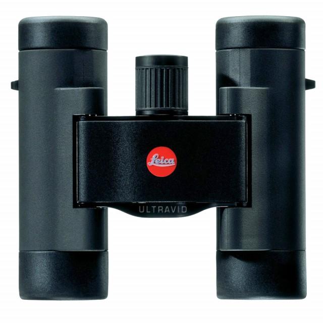 Leica Ultravid 8x20 BR gommato nero con astuccio in cordura