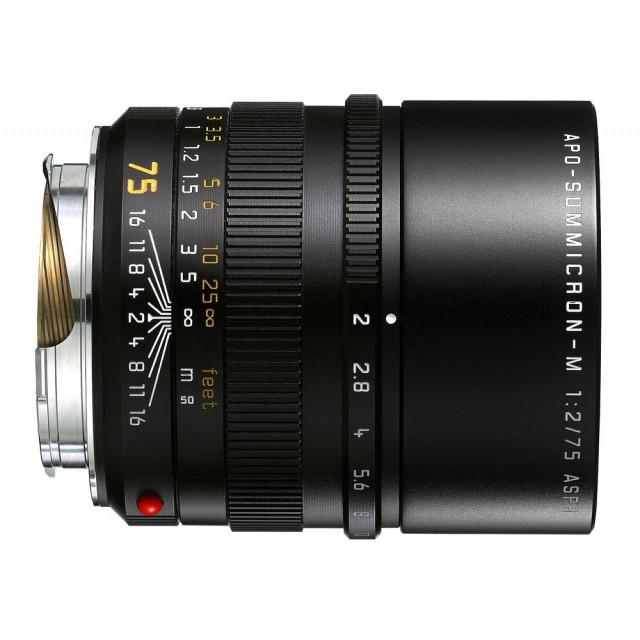 75mm f/2 Apo Leica Summicron-M ASPH
