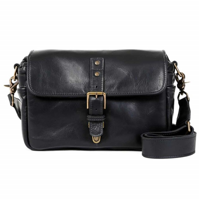 Ona Bowery Black Leather