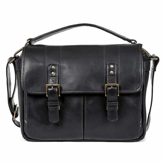 Ona Prince Street Leather Black
