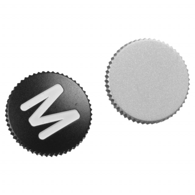 Soft Release Button M 8mm silver