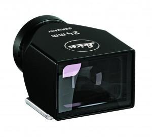 Mirino classico in metallo nero laccato 24mm Leica M