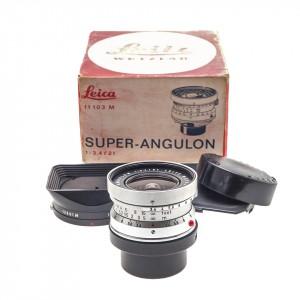 21mm f/3.4 Super-Angulon-M Leica Silver (11103)