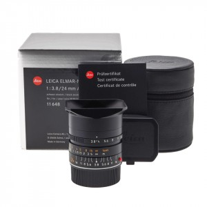 24mm f/3.8 Asph. Elmar-M Leica (11648) BIT CODE