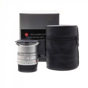35mm f/2 Asph. Summicron-M Leica Silver BIT CODE (11674)