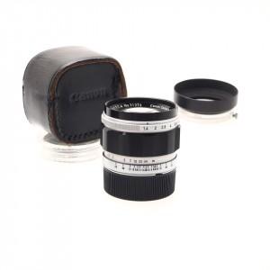 50mm f/1.4 Canon (L39 - Leica M)