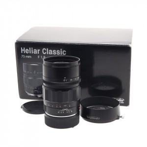 75mm f/1.8 Heliar Voigtlander Black (Leica M)