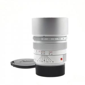 90mm F/2 Summicron-M Leica Silver Chrome (11137)