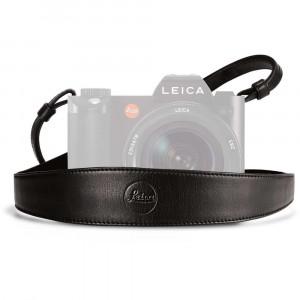 Leica cinghia a tracolla pelle nera