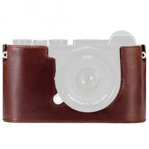 Leica Fondello Leica CL cuoio (Marrone)