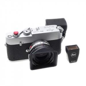 Leica MDa Silver + 21mm f/3.4 Super-Angulon-M Leica
