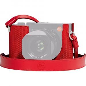 Leica Q2 Fondina protettiva rossa