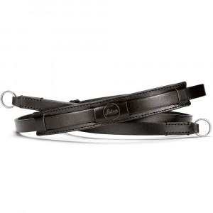 Leica cinghia a tracolla lifestyle in pelle nera