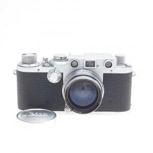 Leica III F + 50mm f/2 Summitar (Chrome)