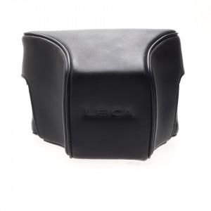 Leica borsa pronto nera cuoio