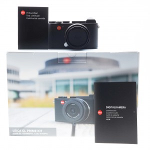 Leica CL Black (KIT) + 18mm f/2.8