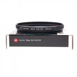 Leica Filtro UV/IR Black E67
