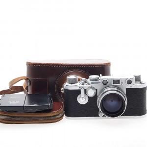 Leica III F (Chrome) + Summitar 5cm F2