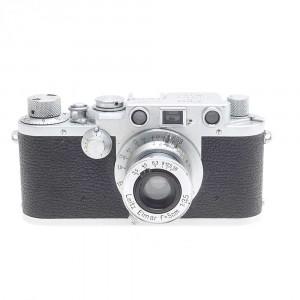 Leica III f chrome con Elmar 5cm F/3.5 rientrante
