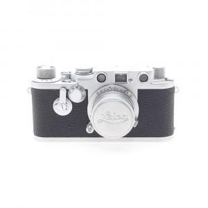Leica III F (numeri rossi) con Leitz Elmar 5cm F/3.5