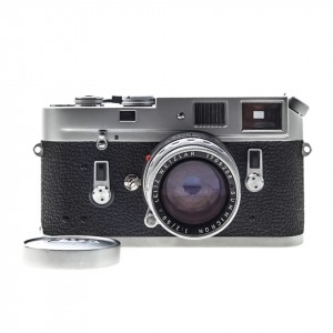 Leica M4 Silver + 50mm f/2 Summicron-M Rigido