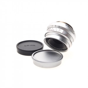35mm f/2.8 Summaron-V Leica (11106) (SIMOO) Silver Chrome + Anello Leica-M Originale
