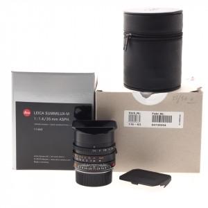 35mm f/1.4 Asph Summilux-M Leica Black BIT CODE (11663)