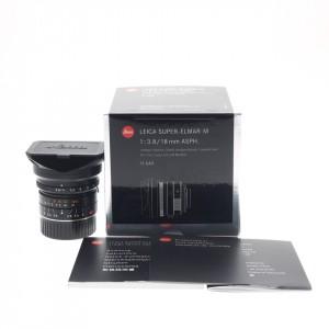18mm f/3.8 Leica Super-Elmar-M ASPH ref.11649 (DEMO-NUOVO FATTURABILE)