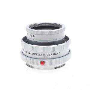 Leica OUAGO 90 F4 Germany silver